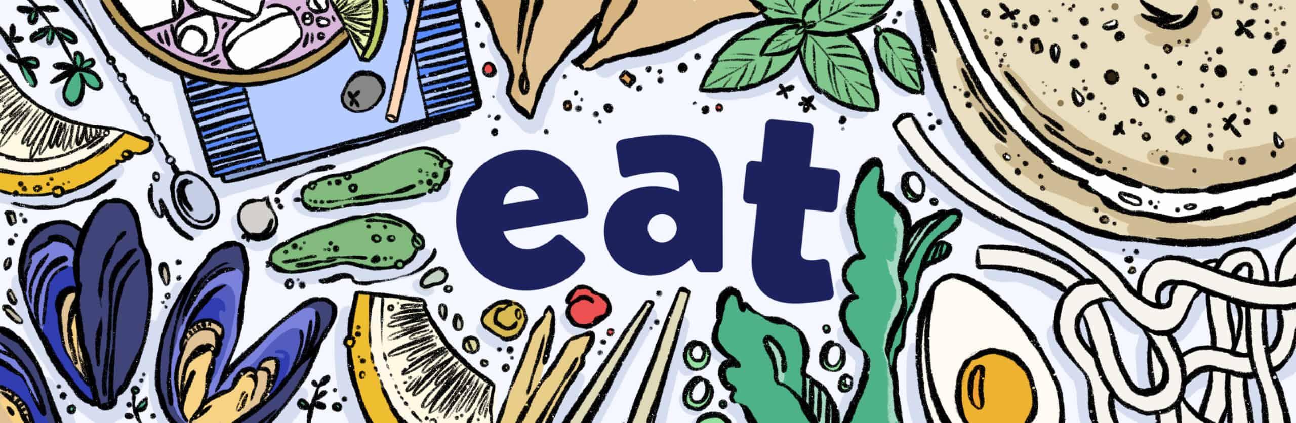 Eat Brookline illustration