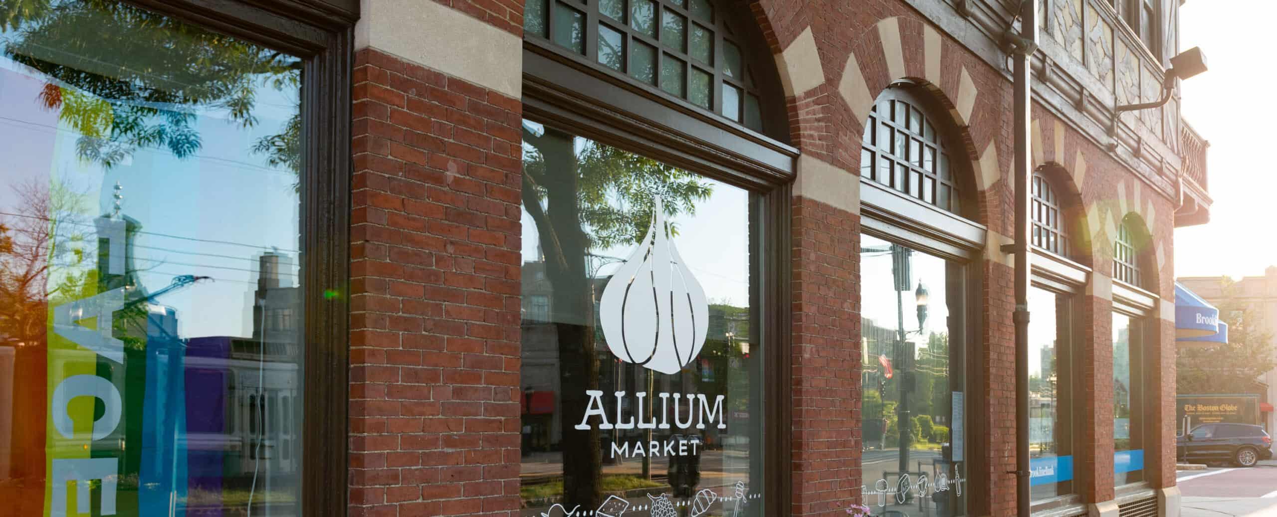 Allium Market storefront