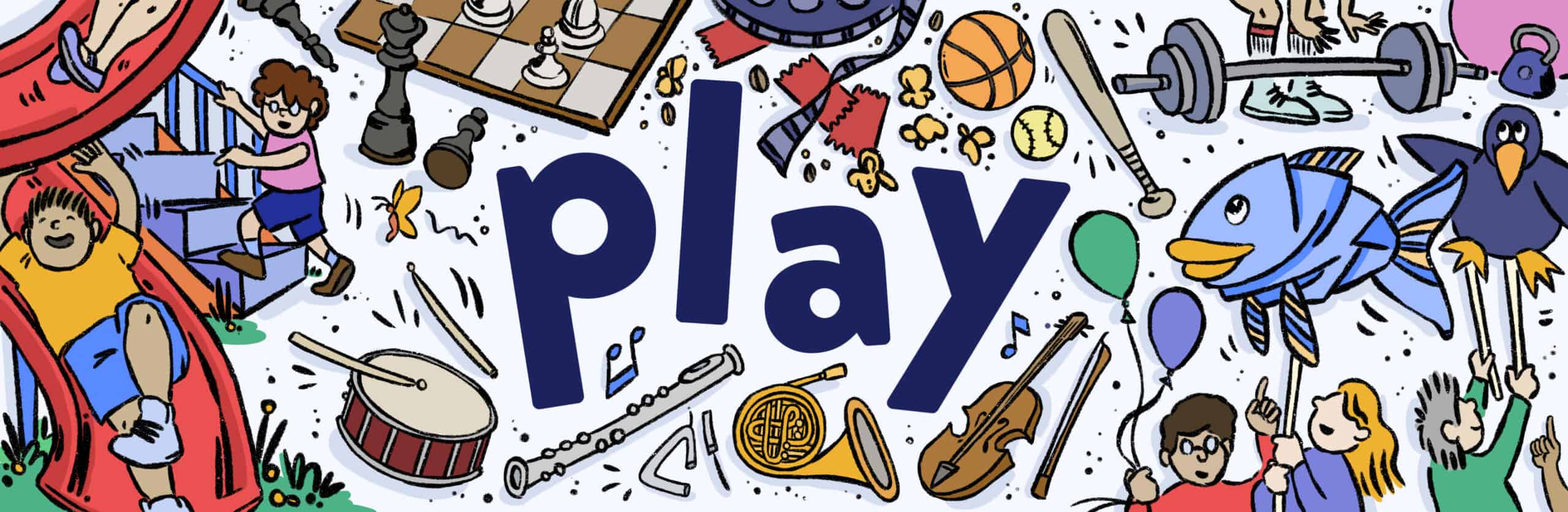 Play in Brookline illustration