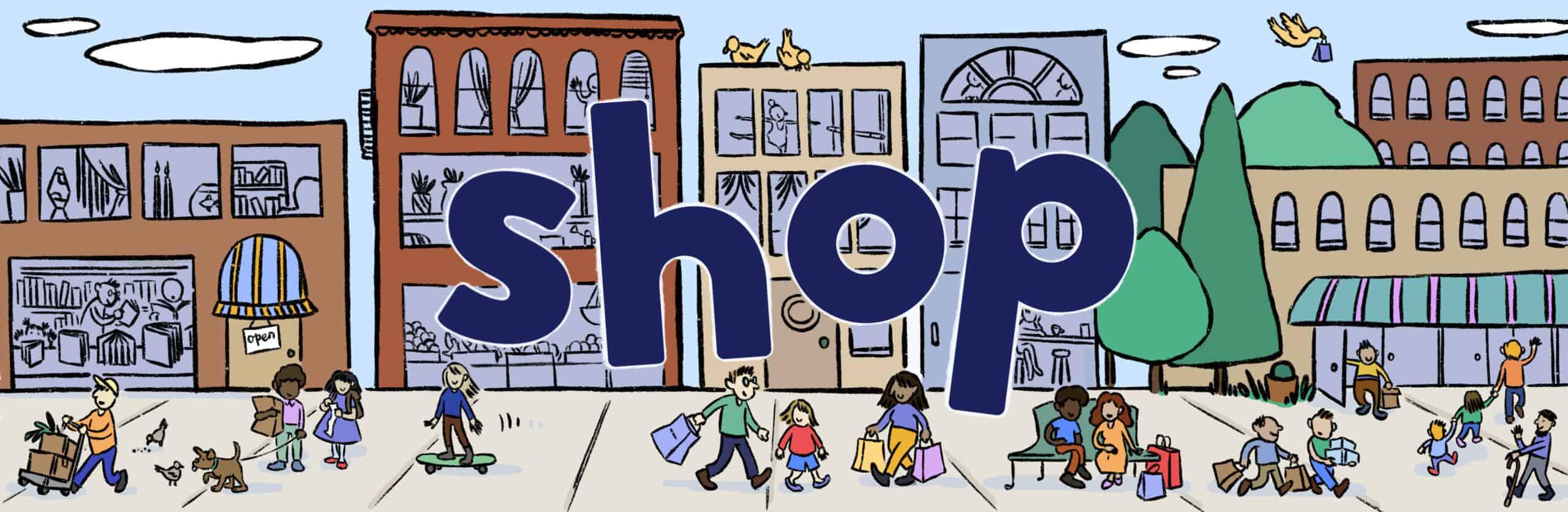 Shop Brookline illustration