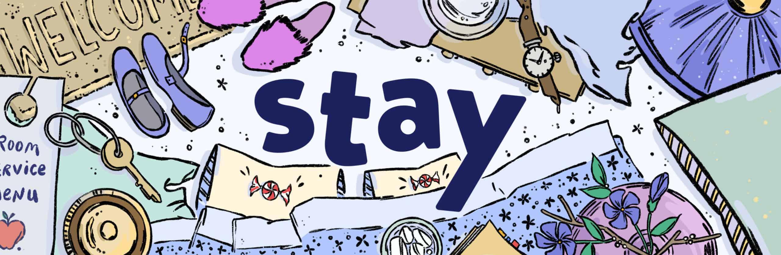 Stay in Brookline illustration