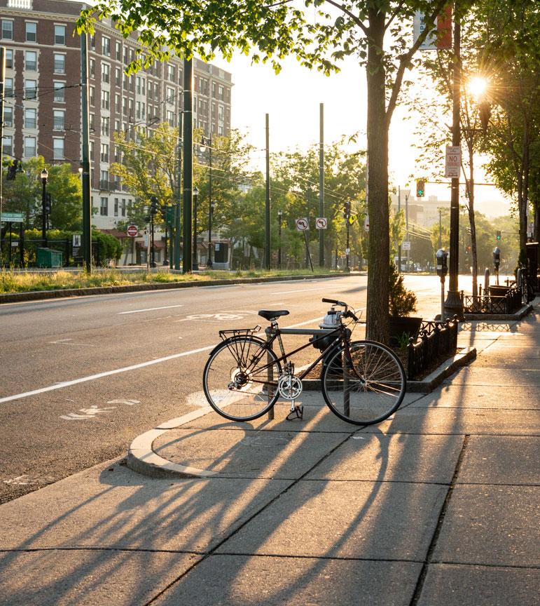 Brookline bicycle