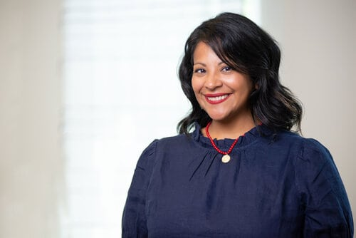 Giselle Ferro Puigbo, new Executive Director of the Brookline Art Center
