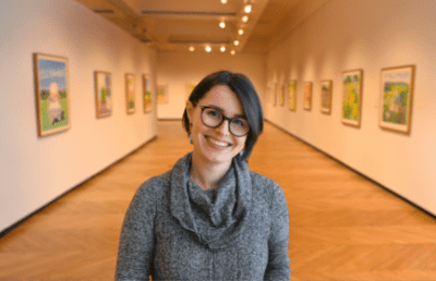 Jessica O'Hearn, new Executive Director of the Brookline Art Center